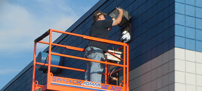 Exterior Commercial Lighting Maintenance in Buffalo NY